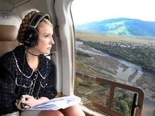 Тимошенко: Люди собрали миллион гривен для пострадавших от стихии