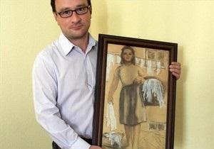 Поляк решил жениться на картине