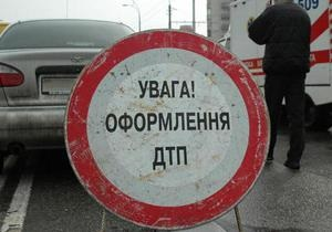 ДТП - В России двое украинцев пострадали в ДТП