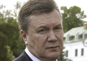Янукович: Украина никогда не признает претензий России на всю собственность СССР