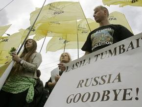 Опрос: 60% украинцев доверяют России, Украине - 20% россиян