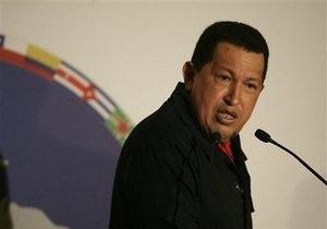 Чавес готов к примирительному разговору с лидером Колумбии