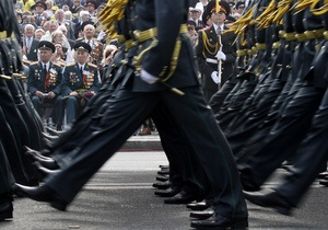 На Крещатике проходят празднования по случаю Дня Победы