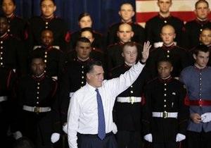 Ромни не исключает возможности применения военной силы против Ирана