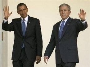 Экономика США: Буш увидел признаки позитивных сдвигов, Обама прогнозирует ухудшение