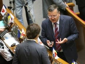 Гриценко предостерег Партию регионов и БЮТ от создания хунты