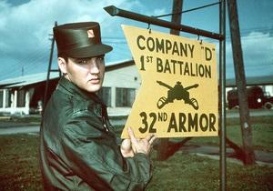 Армейский костюм Элвиса уйдет с молотка