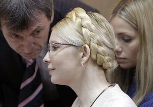Сегодня адвокаты Тимошенко расскажут о своих дальнейших действиях