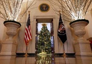 Фотогалерея: Добро пожаловать в Рождество. Белый дом украсили к зимним праздникам