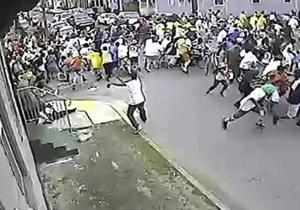 Стрельба на параде в Новом Орлеане: Полиция опубликовала видео