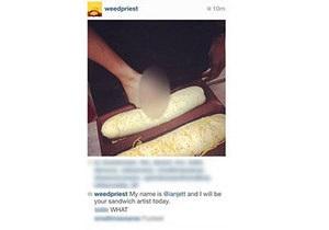 Непристойные фото с едой лишили работы сотрудников популярной фастфуд-сети - subway
