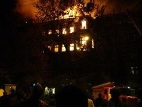 МЧС: Повторного возгорания в доме Руссова в Одессе не было