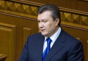 Янукович: Впереди нас ждут новые испытания и угрозы. Мировой кризис далек от завершения