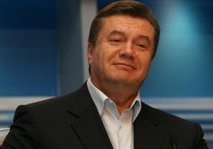 Янукович посетил Национальную оперу и поообщался с творческой элитой