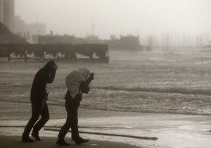 Сильнейшая зимняя непогода обрушилась на Ближний Восток