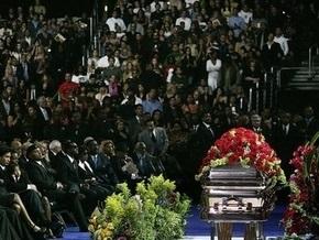 Церемонию прощания с Джексоном посмотрели около 31 млн зрителей