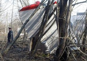 Сегодня Польша получит отчет по итогам расследования авиакатастрофы самолета Качиньского