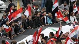 Сирия: первая вооруженная акция оппозиции в Дамаске