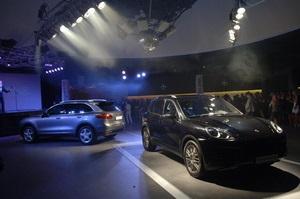 18 травня у  Крістал Холі  відбулася грандіозна презентація нових моделей Porsche Cayenne