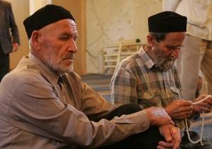Крымские татары ждут встречи с Януковичем