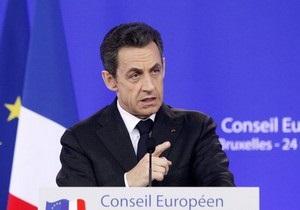 Саркози выступил с резкими заявлениями в адрес премьера  Великобритании