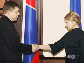 Евросоюз попросил Тимошенко начать переговоры с Путиным