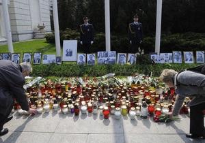 Рада почтила минутой молчания память Качиньского и польской делегации
