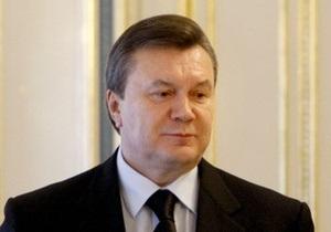 Янукович внес кандидатуру Азарова на пост главы правительства