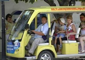 В Крыму поляк попал под колеса электромобиля