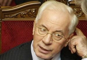Азаров возмущен наличием свалки в Голосеевском парке Киева и требует разобраться с ситуацией