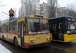 В следующем году Киев планирует закупить 210 новых троллейбусов