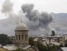 Грузия обвинила Россию в новых бомбардировках Гори. Москва все отрицает