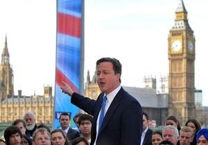 Великобритания оказалась на пороге рецессии