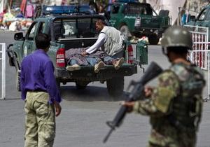 В Афганистане по меньшей мере пять человек погибли в результате теракта