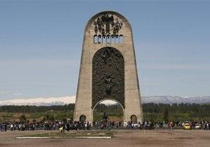 Путин пообещал восстановить в Москве Монумент славы, снесенный в Кутаиси