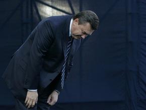 Янукович прибыл в Армению с поклоном