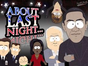 South Park: Банда Обамы и Маккейна проникла в Белый дом, чтоб похитить Алмаз Надежды