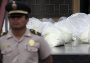 В Гватемале конфисковали 800 кг кокаина