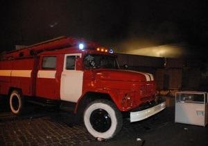 В Киевской области загорелась церковь УПЦ МП