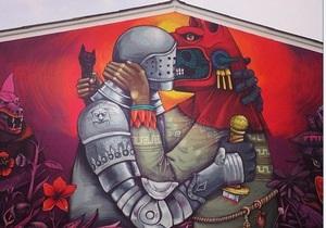 Сегодня в Киеве открывается выставка знаменитого французского стрит-арт художника