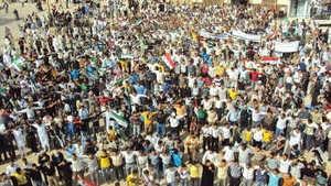 Похороны лидера сирийских курдов переросли в массовый антиправительственный митинг