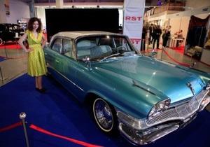 Сегодня в Киеве открывается выставка ретроавтомобилей