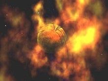 Астрономы впервые засняли вспышку магнетара