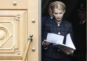 Тимошенко утверждает, что уголовное дело против нее было сфабриковано СБУ в 2004 году