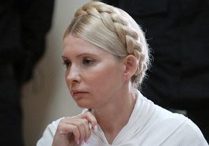 Тимошенко не видит смысла привлекать новых адвокатов