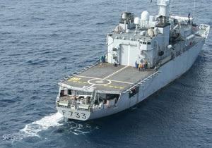 Корабль ВМС Франции шесть дней преследовал судно с тонной кокаина на борту