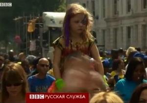 На карнавале Ноттинг Хилл первый день отдали детям