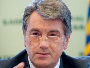 Ющенко потребовал от Кабмина срочно внести изменения в газовые контракты с РФ
