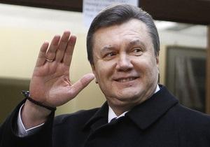 ЦИК обработала 5,37% протоколов. Янукович лидирует (обновлено)