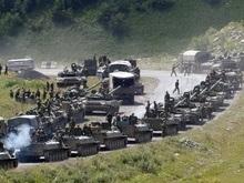 К российским миротворцам прибыло подкрепление из Чечни